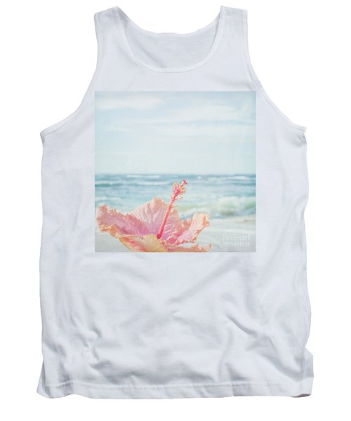 Tank Top featuring the photograph The Blue Dawn by Sharon Mau
