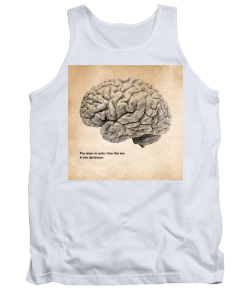 The Brain Is Wider Than The Sky Tank Top