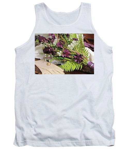 Tank Top featuring the photograph The Bride To Be by Cynthia Guinn