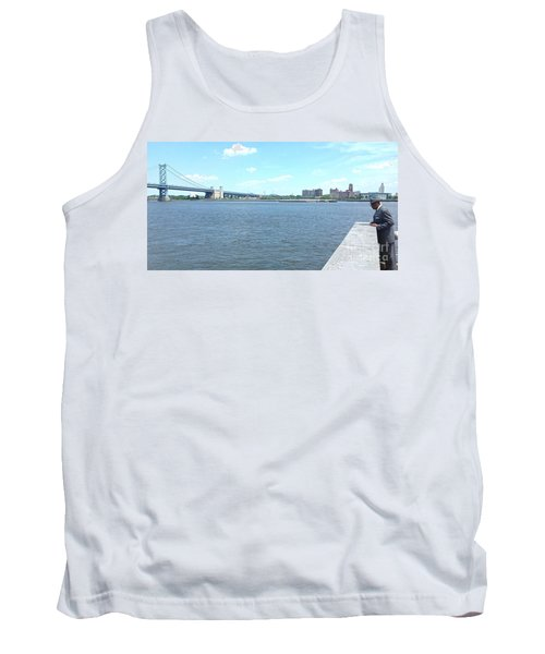 The Bridge And The River Tank Top