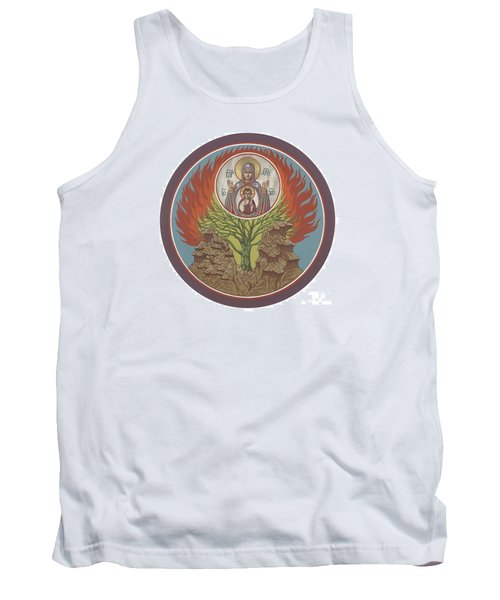 Tank Top featuring the painting The Burning Bush 249 by William Hart McNichols