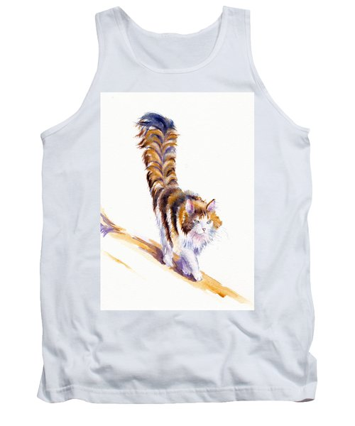 The Calico Cat That Walked By Himself Tank Top