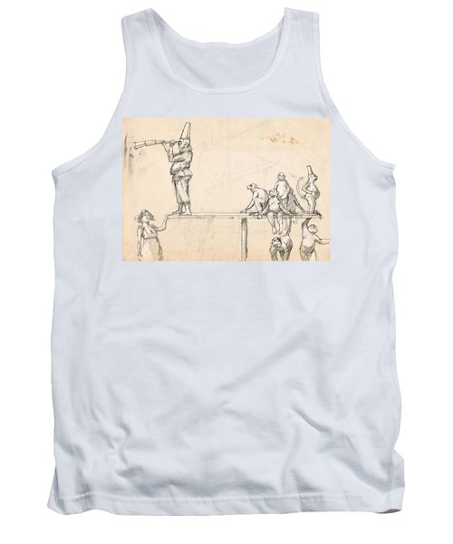 The Captain Tank Top by H James Hoff