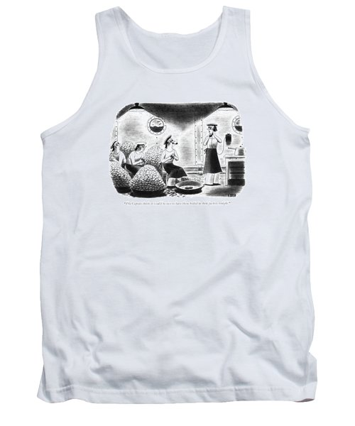 The Captain Thinks It Would Be Nice Tank Top