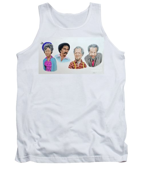 The Cast Of Sanford And Son  Tank Top by Jim Fitzpatrick