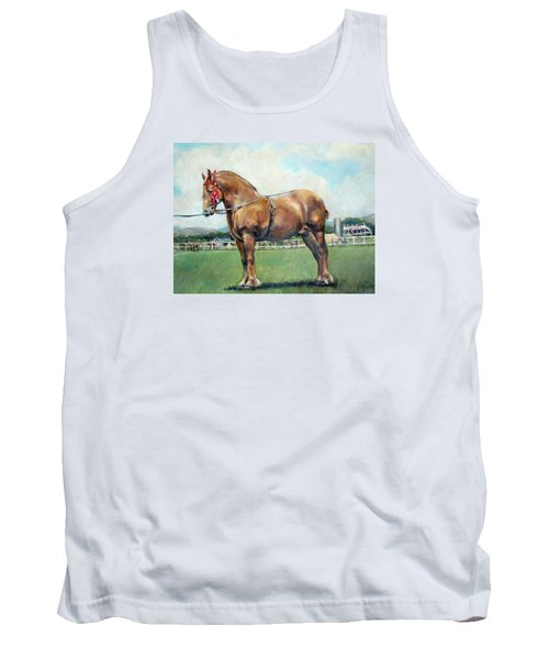 Tank Top featuring the painting The Champ by Donna Tucker