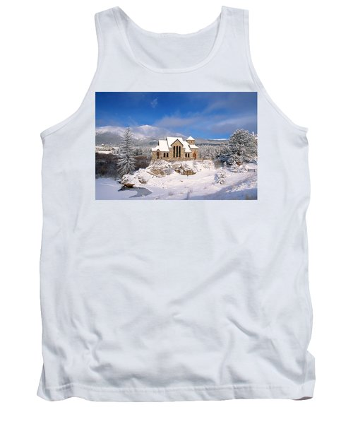 The Chapel On The Rock 3 Tank Top