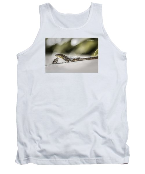 Tank Top featuring the photograph The Charming Lizards by Stwayne Keubrick