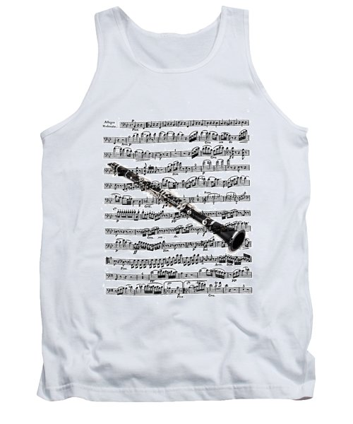 The Clarinet Tank Top