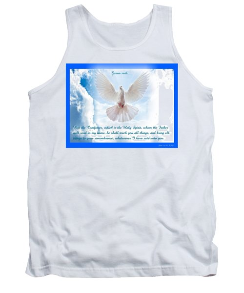 The Comforter Tank Top by Terry Wallace
