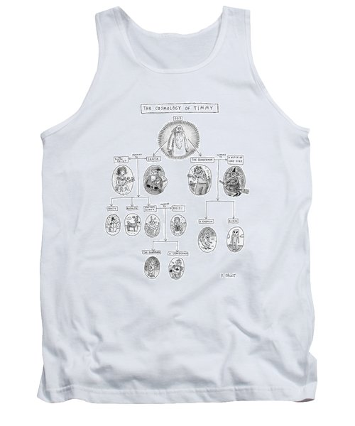 The Cosmology Of Timmy Tank Top