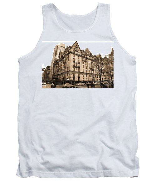 The Dakota Vintage Look Tank Top
