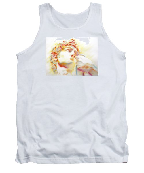 The David By Michelangelo. Tribute Tank Top by J- J- Espinoza