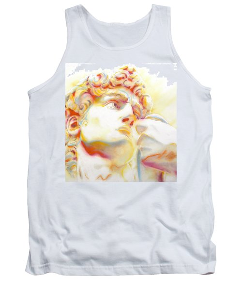 The David By Michelangelo. Tribute Tank Top