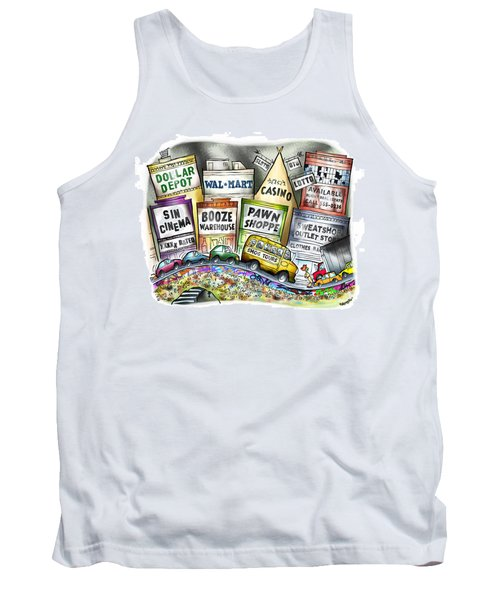 The Delights Of Modern Civilization Tank Top
