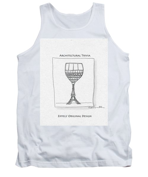 The Eiffel Tower Tank Top