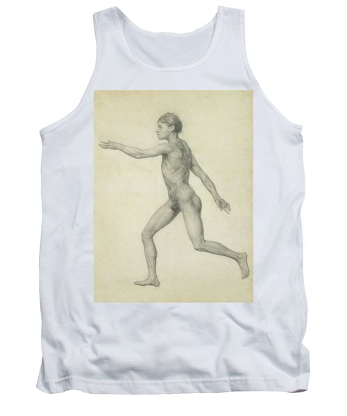 The Entire Human Figure From The Left Lateral View Tank Top
