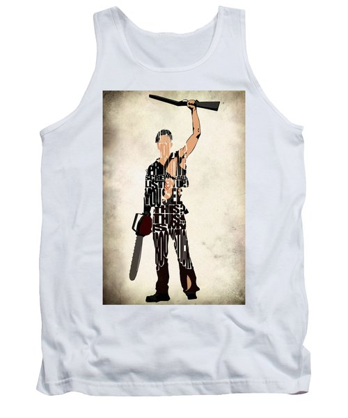 The Evil Dead - Bruce Campbell Tank Top