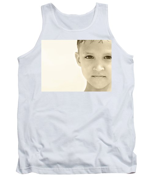 The Eye Of A Child Tank Top by Charles Beeler