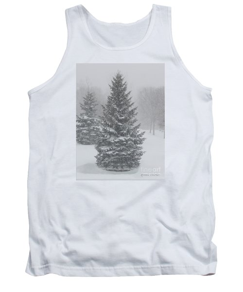 The First Snow Of Christmas Tank Top