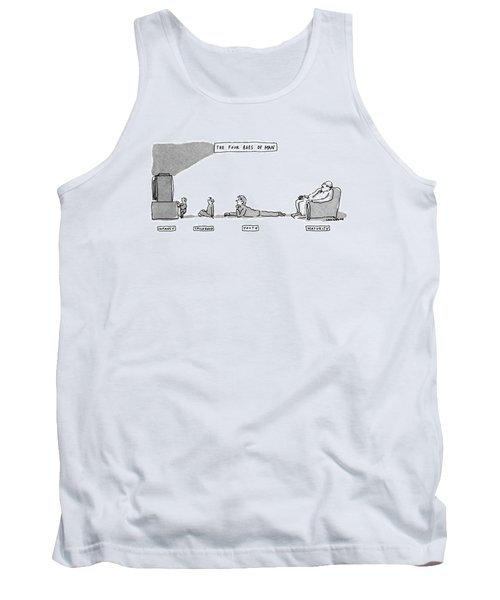 The Four Ages Of Man Tank Top