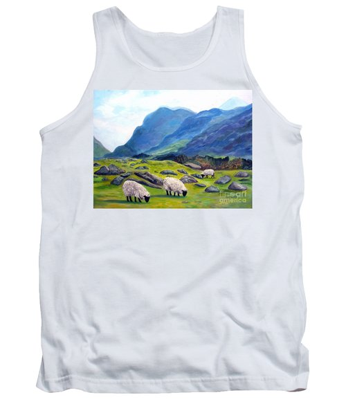 The Gap Of Dunloe Kilarney Ireland Tank Top