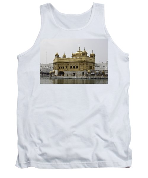 Tank Top featuring the photograph The Golden Temple In Amritsar by Ashish Agarwal
