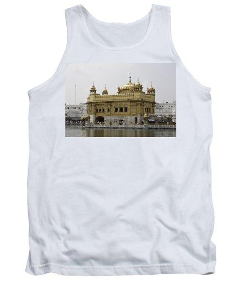 The Golden Temple In Amritsar Tank Top by Ashish Agarwal