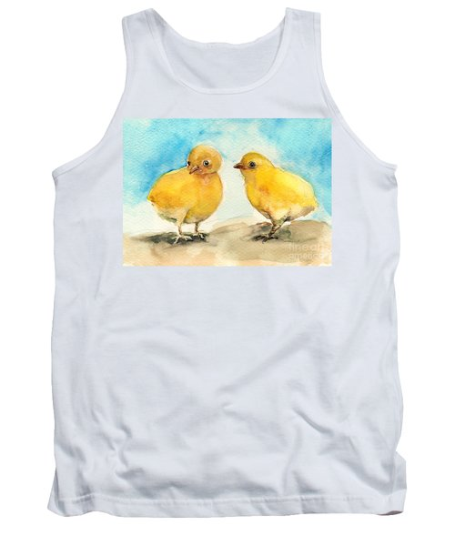 The Gossiping Chicks Tank Top