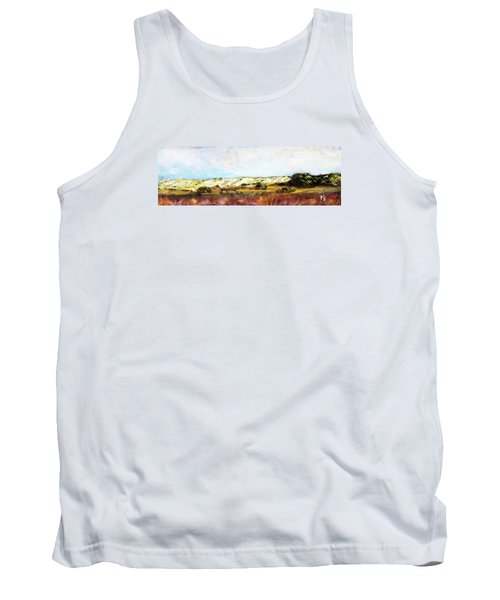 Tank Top featuring the painting Behind The Surge by Michael Helfen