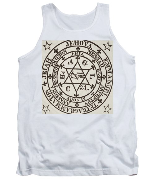 The Great Magic Circle Of Agrippa For The Evocation Of Demons Tank Top