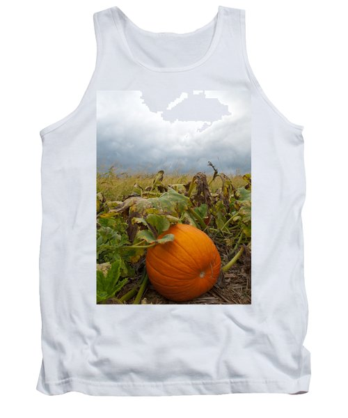 The Great Pumpkin Tank Top by Wayne King