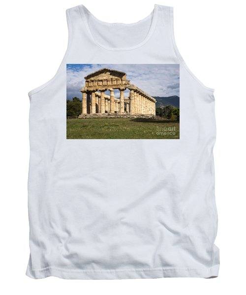 The Greek Temple Of Athena Tank Top