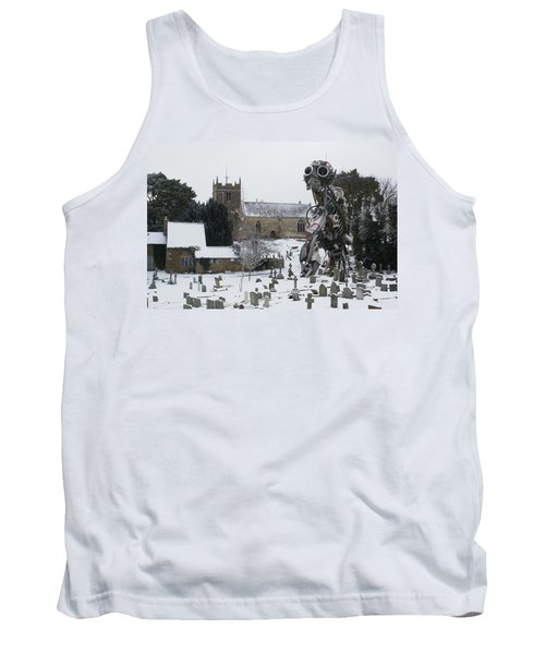 The Grim Reaper Tank Top by Ron Harpham