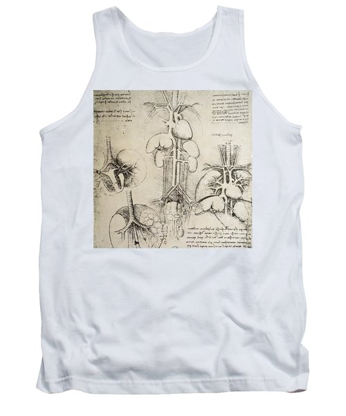 The Heart And The Circulation Tank Top