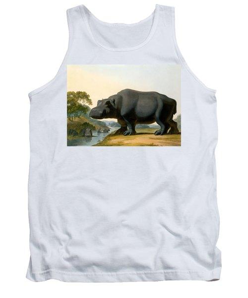 The Hippopotamus, 1804 Tank Top by Samuel Daniell