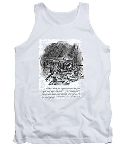The Infantry Pack Has Been Scienti?cally Designed Tank Top