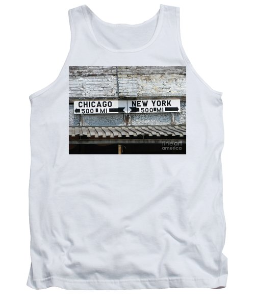 The Intersection II Tank Top