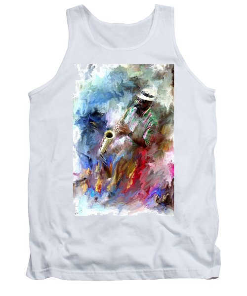 The Jazz Player Tank Top