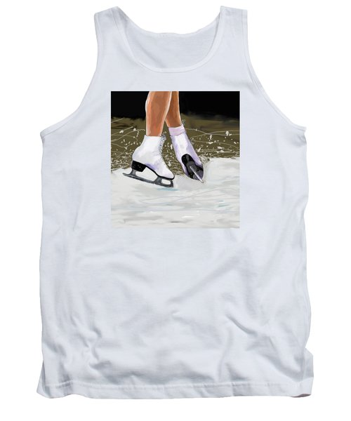 The Jump Tank Top by Jeanne Fischer
