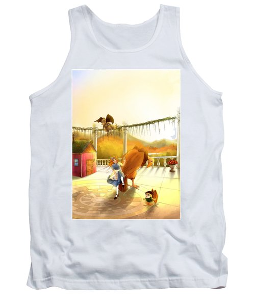 The Landing On The Balcony  Tank Top