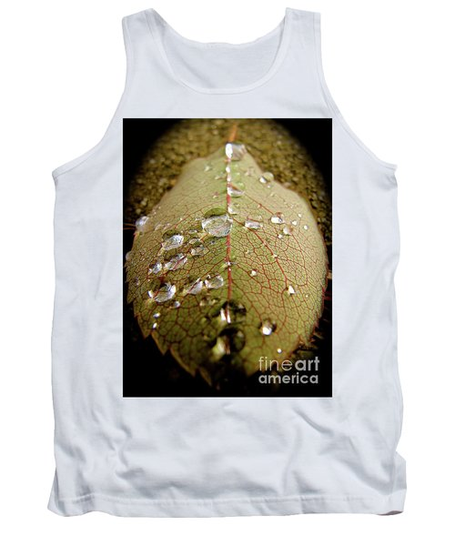 The Leaf After Rain Tank Top by CML Brown