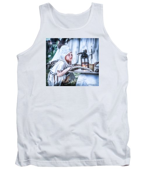 Tank Top featuring the photograph The Leprosy Child And The Healing Lantern by Stwayne Keubrick