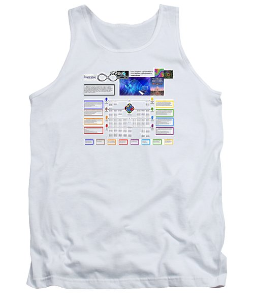 Lightspeed Reading  Tank Top by Peter Hedding