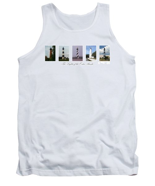 The Lights Of The Outer Banks Tank Top by Tony Cooper