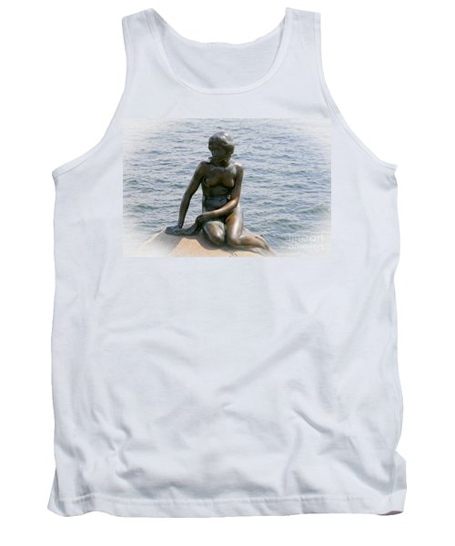 The Little Mermaid Of Copenhagen Tank Top