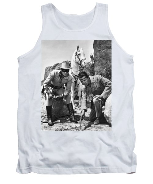 The Lone Ranger And Tonto Tank Top