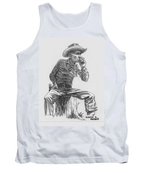 The Lookout Tank Top by Duane R Probus