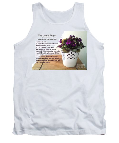 The Lords Prayer Tank Top