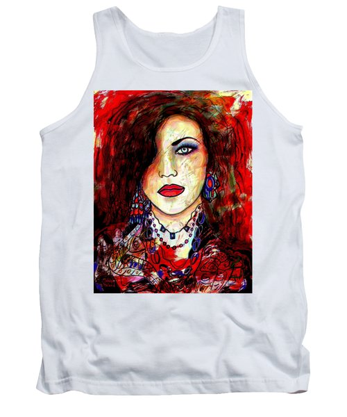 The Model Tank Top by Natalie Holland